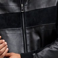 Мужская кожаная куртка Derimod ME-5638113619 - Мужские кожаные куртки