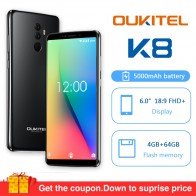US $113.99 5% OFF|Oukitel K8 Android 8.0 6.0