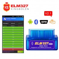 US $6.17 18% OFF|ELM327 v2.1 Bluetooth OBD II OBD2 Car Diagnostic Tool Super Mini ELM 327 V 2.1 Bluetooth Code Reader For 12 v CAR For Android-in Code Readers & Scan Tools from Automobiles & Motorcycles on Aliexpress.com | Alibaba Group