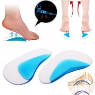 US $0.79 18% OFF|1Pair Professional Orthotic Arch Support Shoe Insole Flat Foot Silicone Corrector Shoe Cushion Insert Height Increasing Shoe Pad-in Insoles from Shoes on Aliexpress.com | Alibaba Group