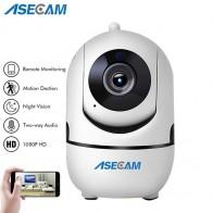1602.07 руб. 18% СКИДКА|ASECAM HD 1080 P облако Беспроводной IP Камера интеллигентая (ый) автоматическое слежение за человека охранного видеонаблюдения для домашнего применения сетевая камера с WiFi Обнаружение движения-in Камеры видеонаблюдения from Безопасность и защита on Aliexpress.com | Alibaba Group