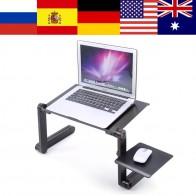 450.71 руб. 31% СКИДКА|Регулируемая Портативная подставка для ноутбука Lap диван кровать лоток компьютер ноутбук стол кровать стол с коврик для мыши-in Компьютерные столы from Мебель on Aliexpress.com | Alibaba Group