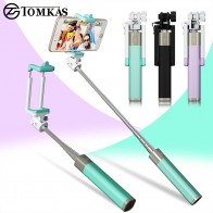 US $4.49 10% OFF|Mini Selfie Stick With Button Wired Silicone Handle Monopod Universal For iPhone 6 5 Android Samsung Huawei Xiaomi Sticks-in Selfie Sticks from Consumer Electronics on Aliexpress.com | Alibaba Group