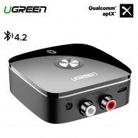 R$ 69.43 20% de desconto|Ugreen RCA Receptor Bluetooth 4.2 aptX 3.5mm Jack Aux 2RCA Bluetooth Receiver Música Adaptador de Áudio Sem Fio para Fone De Ouvido Carro 3.5-in Adaptador sem fio from Aparelhos eletrônicos on Aliexpress.com | Alibaba Group