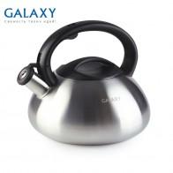 1314.0 руб. |Чайник Galaxy GL 9212 (Объем 3 л, Высококачественная нержавеющая сталь, подходит для всех типов плит) купить на AliExpress