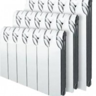 Купить Биметаллический радиатор Gladiator 350/80/5 сек в Ульяновске