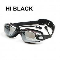 323.04 руб. 5% СКИДКА|Профессиональные силиконовые близорукость плавательные очки Анти туман УФ плавательные очки с Earplug для Для мужчин Для женщин диоптрий спортивные очки купить на AliExpress