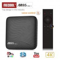 3245.18 руб. |Mecool M8S PRO L Smart ТВ коробка Android 7,1 Amlogic S912 3 ГБ Оперативная память 32 ГБ Встроенная память 5 г Wi Fi BT4.1 телеприставки с голосовым дистанционным Управление-in ТВ-приставки from Бытовая электроника on Aliexpress.com | Alibaba Group