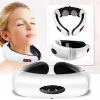 Masajeador de pulso eléctrico para espalda y cuello, herramienta de alivio del dolor por infrarrojos lejanos para el cuidado de la salud-in Masaje y relajación from Belleza y salud on AliExpress