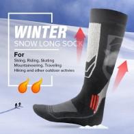 326.3 руб. |Новые зимние теплые лыжные носки хлопковые спортивные для катания на сноуборде, велоспорта носки термо носки гетры для мужчин и женщин on Aliexpress.com | Alibaba Group