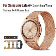 US $3.78 5% OFF|20mm 22mm Width Stainless Steel Band for Samsung Galaxy Watch 42mm 46mm Milanese Wristband Metal Magnetic Release Strap-in Watchbands from Watches on Aliexpress.com | Alibaba Group