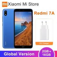 5557.66 руб. |В наличии глобальная версия Xiaomi Redmi 7A 7 A 2GB 16GB 4000mAh Snapdragon 439 Восьмиядерный мобильный телефон 5,49