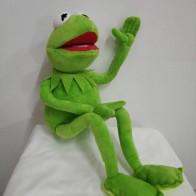 €10.61 17% de réduction|Livraison gratuite 45 cm dessin animé les Muppets KERMIT grenouille peluche jouets doux garçon poupée pour enfants cadeau d