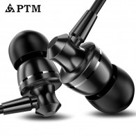 US $1.91 73% OFF|Earphone PTM Noise Canceling Headphone HD HiFi Headset Super Bass Stereo Earbuds for Mobile phone for Iphone xiaomi-in Phone Earphones & Headphones from Consumer Electronics on Aliexpress.com | Alibaba Group