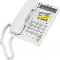 Купить Проводной телефон PANASONIC KX-TS2365RUW, белый в интернет-магазине СИТИЛИНК, цена на Проводной телефон PANASONIC KX-TS2365RUW, белый (18262) - Москва