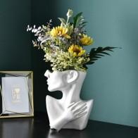 Скандинавский креативный напольный цветочный горшок, современный минималистичный керамический цветочный Декор для дома, украшения - Ваш красивый дом