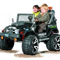 Детский электромобиль Peg Perego Gaucho SuperPower IGOD0502 - Детские электромобили