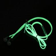 93.49 руб. 50% СКИДКА|Новые светящиеся наушники подсветкой; светящаяся обувь; металлические наушники с «молнией» светится в темноте для MP3 Iphone samsung с микрофоном купить на AliExpress