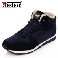 US $17.9 70% OFF|REETENE Cheapest Winter Boots Men Fashion Fur Flock Winter Shoes Men Leather Winter Ankle Boots Men Warm Casual Men Boots 37 48-in Snow Boots from Shoes on Aliexpress.com | Alibaba Group