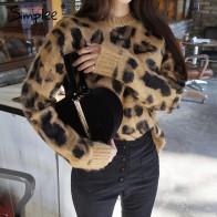 1558.26 руб. 45% СКИДКА|Женский леопардовый вязаный пуловер Simplee,осенний, зимний женский джемпер с длинным рукавом, свитер, женская повседневная одежда больших размеров-in Пуловеры from Женская одежда on Aliexpress.com | Alibaba Group