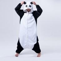 1175.73 руб. 42% СКИДКА|Милый мультфильм кигуруми панда с длинными рукавами комбинезон с капюшоном для взрослых Для женщин животных прекрасный/красные глаза/кунг фу Пижама с дизайном «панда» on Aliexpress.com | Alibaba Group