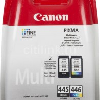 Картридж CANON PG-445/CL-446, многоцветный / черный