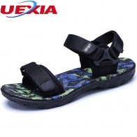 US $14.16 41% OFF|High Quality Brand Fashion Cool Men Beach Sandals 2017 High Quality Summer Sandals Men Breathable Casual Beach Fashion Sandalias-in Men