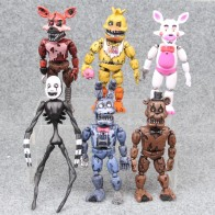 14.5 17cm 6pcs/lot PVC Five Nights At Freddy