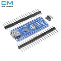 119.06 руб. 14% СКИДКА|Mini USB CH340 Nano 3,0 ATmega328P плате контроллера совместимый для Arduino Nano CH340 USB драйвер Nano V3.0 ATmega328-in Интегральные схемы from Электронные компоненты и принадлежности on Aliexpress.com | Alibaba Group