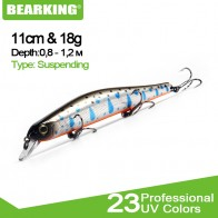 2018 Bearking Brand Z110 Hard Fishing Lures Minnow 11cm 17g quality Baits Deep Diving Wobblers Fishing Tackles Free shipping - РЫБАЛКА