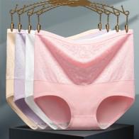 Briefs Panties for Women Cotton Panties Woman High Waist Underwear Women