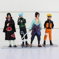 595.81 руб. |12 4 шт./лот Наруто ПВХ аниме 17 поколения Саске Итачи Какаши модель игрушки фигурку украшения коллекция подарок купить на AliExpress