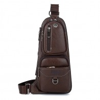 547.52 руб. 10% СКИДКА|SULPPAIJEEP модная мужская нагрудная сумка из искусственной кожи с отверстием для гарнитуры Повседневная сумка через плечо для мужчин KSL608M-in Поясные сумки from Багаж и сумки on Aliexpress.com | Alibaba Group