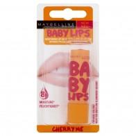 Восстанавливающий бальзам для губ «Вишня» Maybelline Baby Lips Cherry Me