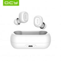 Qcy qs1 fones de ouvido bluetooth 5.0 tws mini invisível 3d alta fidelidade estéreo sem fio fone com banco potência caixa carregamento/t1c-in Fones de ouvido from Eletrônicos on AliExpress