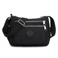 748.98 руб. 40% СКИДКА|Новая модная женская сумка мессенджер, сумки через плечо для девочек, непромокаемая нейлоновая сумка посылка, кошельки купить на AliExpress