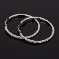 US $1.33 15% OFF|YFJEWE Fashion Hot Sale Casual Rhinestone Earrings For Women Jewelry Accessories Belt Big Hoop Earrings wholesale Earring #E134-in Hoop Earrings from Jewelry & Accessories on Aliexpress.com | Alibaba Group