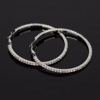 US $1.33 15% OFF|YFJEWE Fashion Hot Sale Casual Rhinestone Earrings For Women Jewelry Accessories Belt Big Hoop Earrings wholesale Earring #E134-in Hoop Earrings from Jewelry & Accessories on Aliexpress.com | Alibaba Group
