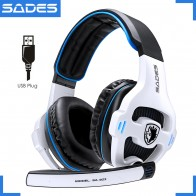 US $27.99 20% OFF|SADES SA 903 High Performance 7.1 USB PC Headset Deep Bass Gaming Headphones With LED Micphone For Games Player-in Headphone/Headset from Consumer Electronics on Aliexpress.com | Alibaba Group