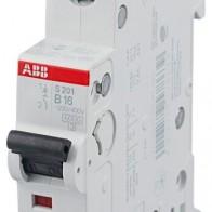 Купить Автоматический выключатель ABB S201 1P (B) 6kA 16 А по низкой цене с доставкой из маркетплейса Беру