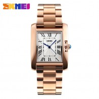 US $16.06 25% OFF|SKMEI Women Watches Rose Gold Fashion Woman Watches 2019 Brand Luxury Quartz Ladies Wrist Watches Relogio Feminino Montre Femme-in Women