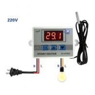 220В 12В 24В Цифровой светодиодный контроллер температуры термостат переключатель зонд Sens R06 оптовая продажа и Прямая поставка - Теплый пол