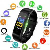 US $11.69 87% OFF|LIGE New Smart Watch Men Women Heart Rate Monitor Blood Pressure Fitness Tracker Smartwatch Sport Smart Bracelet for ios android-in Smart Wristbands from Consumer Electronics on Aliexpress.com | Alibaba Group