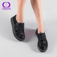 1046.63 руб. 65% СКИДКА|AIMEIGAO/Демисезонная обувь на плоской платформе со шнуровкой Женская повседневная обувь на толстой подошве женская обувь с перфорацией типа «броги» в британском стиле-in Женская обувь без каблука from Туфли on Aliexpress.com | Alibaba Group