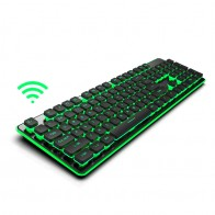 2.4G Wireless Game Keyboard Mouse Imitation Mechanical Keyboard Gaming Mouse For Macbook Lenovo Computer Backlit Keyboard mouse