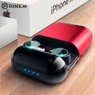 1222.34 руб. 48% СКИДКА|TOMKAS Bluetooth наушники TWS наушники беспроводные Bluetooth стереонаушники с микрофоном Bluetooth наушники с микрофоном и зарядным устройством-in Наушники и гарнитуры from Бытовая электроника on Aliexpress.com | Alibaba Group