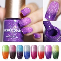 US $0.86 31% OFF|NICOLE DIARY Thermal Nail Polish Glitter Temperature Color Changing Water based Manicure Varnish Shinny Shimmer Nail Lacquer-in Nail Polish from Beauty & Health on Aliexpress.com | Alibaba Group