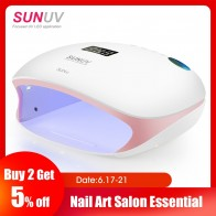 US $48.44 15% OFF|SUNUV SUN4S Nail Lamp 48W UV LED Nail Dryer for Curing Gels Polish With Smart Sensor Manicure Nail Art Salon Equipment Brand New-in Nail Dryers from Beauty & Health on Aliexpress.com | Alibaba Group