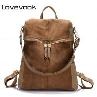 1826.79 руб. 45% СКИДКА|LOVEVOOK женский рюкзак большого объёма высокого качества сумка женская через плечо для женщин из кожи PU рюкзак школьный для девочек подростков дамские рюкзаки купить на AliExpress