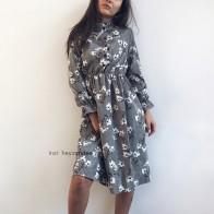 986.45 руб. 50% СКИДКА|Вельветовое винтажное платье с высокой эластичной талией, ТРАПЕЦИЕВИДНОЕ Стильное женское платье с длинным рукавом и цветочным принтом, облегающее женское платье 18 цветов-in Платья from Женская одежда on Aliexpress.com | Alibaba Group